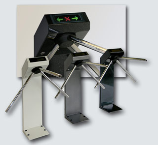 Турникет-трипод PERCo-TTR-04M в различных вариантах исполнения